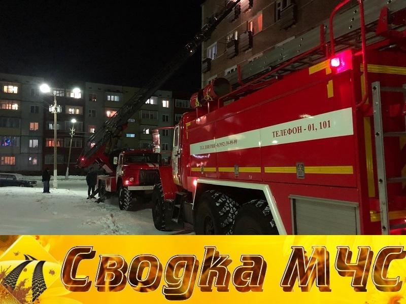 Сводка пожарно-спасательного подразделения