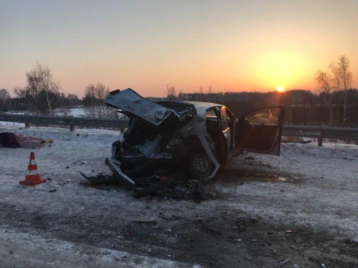 В ДТП погибли двое человек